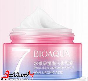کرم سفید کننده ۷ویتامین هیالرورونیک اسید بیوآکوا